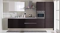 Кухня на заказ BLUM-014 Шпон