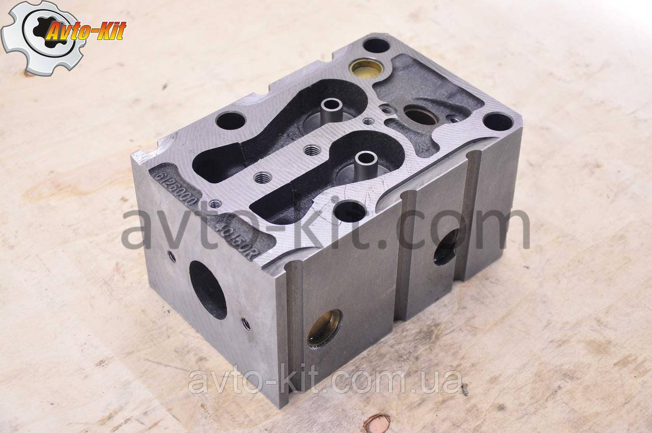 Головка блока цилиндров 612600040150R (голая) WD615 Евро-2 HOWO