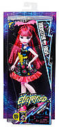 Кукла Монстер Хай Дракулаура Под напряжением Monster High Electrified Hair-Raising Ghouls Draculaura Doll, фото 6