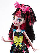 Дракулаура Под напряжением Кукла Монстер Хай Monster High Electrified Hair-Raising Ghouls Draculaura Doll, фото 3