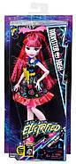 Дракулаура Под напряжением Кукла Монстер Хай Monster High Electrified Hair-Raising Ghouls Draculaura Doll, фото 7