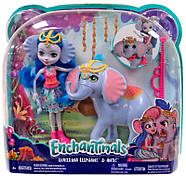 Лялька Энчантималс Слоник Катерина і один Антик Enchantimals Ekaterina Elephant Dolls with Antic, фото 2