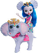 Кукла Энчантималс Слоник Екатерина и друг Антик Enchantimals Ekaterina Elephant Dolls with Antic, фото 3