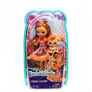 Лялька Энчантималс Гепард Чериш і Квік Квік Enchantimals Cherish Cheetah Doll with Quick-Quick, фото 2