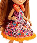 Лялька Энчантималс Гепард Чериш і Квік Квік Enchantimals Cherish Cheetah Doll with Quick-Quick, фото 6