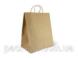 Пакет паперовий Крафт 350*290*210 з ручками