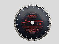 Диск відрізний алмазний Craft  універсальний  turbo segment 230*22.2*2,4*10мм - сухе різання армован.бетону к