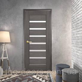 Двері Новий Стиль Ліннея скло сатин