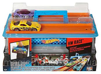 Трек Хот Вилс Портативный трек Гонки Hot Wheels Race Case Track Set