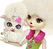 Кукла Энчантималс Барашка Лорна и Флаг Enchantimals Lorna Lamb Doll, фото 3