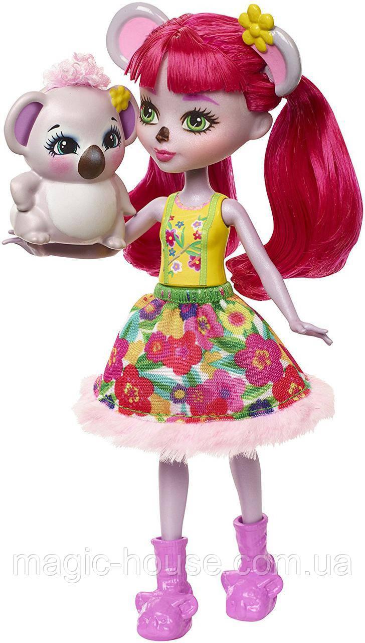 Кукла Энчантималс Карина Коала и питомец Дэб Enchantimals Karina Koala Doll