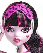 Дракулаура Пижамная вечеринка Кукла Монстер Хай Monster High Dead Tired Draculaura Doll, фото 4
