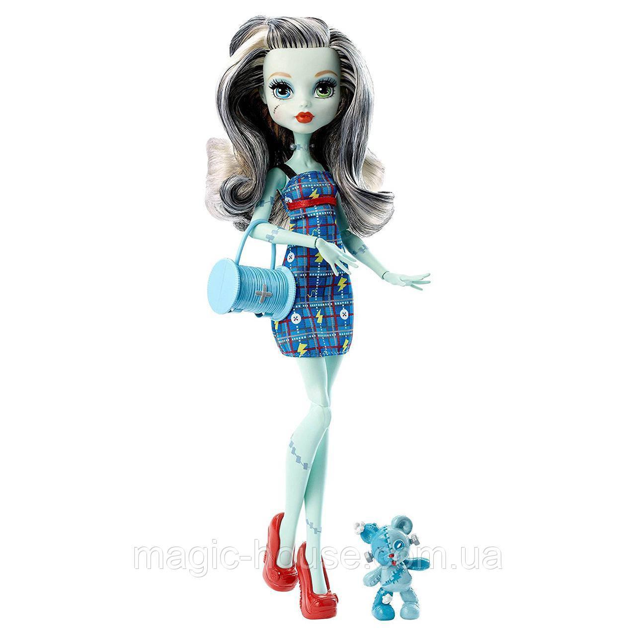 Лялька Френкі Штейн з вихованцем Ghoul's Beast Pet Frankie Stein