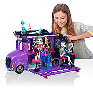 Monster High Школьный автобус и салон Deluxe   Bus and Mobile Salon Toy Playset, фото 2