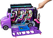 Monster High Школьный автобус и салон Deluxe   Bus and Mobile Salon Toy Playset, фото 3
