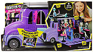 Monster High Школьный автобус и салон Deluxe   Bus and Mobile Salon Toy Playset, фото 4