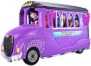 Monster High Школьный автобус и салон Deluxe   Bus and Mobile Salon Toy Playset, фото 6