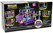 Monster High Школьный автобус и салон Deluxe   Bus and Mobile Salon Toy Playset, фото 9