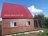 Дачний будинок 6*6, 2 поверхи плюс тераса, фото 5