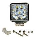 Дополнительная светодиодная фара рабочего света WL-110 SLIM 27W EP9 SP, фото 3