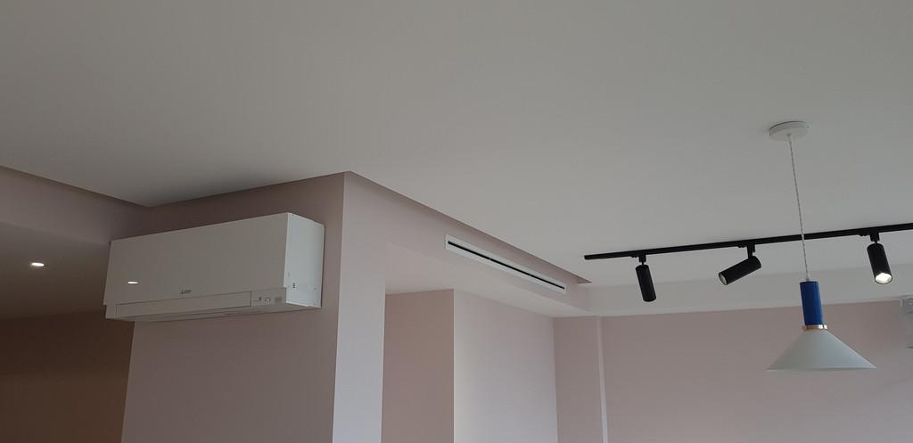 Пример вентиляции и кондиционирования квартиры в многоэтажном доме.
