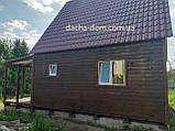 Дачний будинок 6*6, 2 поверхи плюс тераса, фото 7