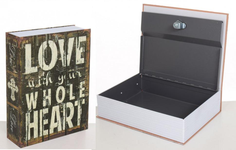 Книга-сейф MK 1847-1 (Любовь)
