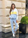 Женский комбинированный костюм (в расцветках), фото 7