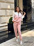 Женский комбинированный костюм (в расцветках), фото 10