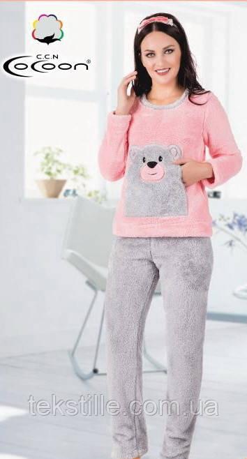 Пижама женская махровая Coccon