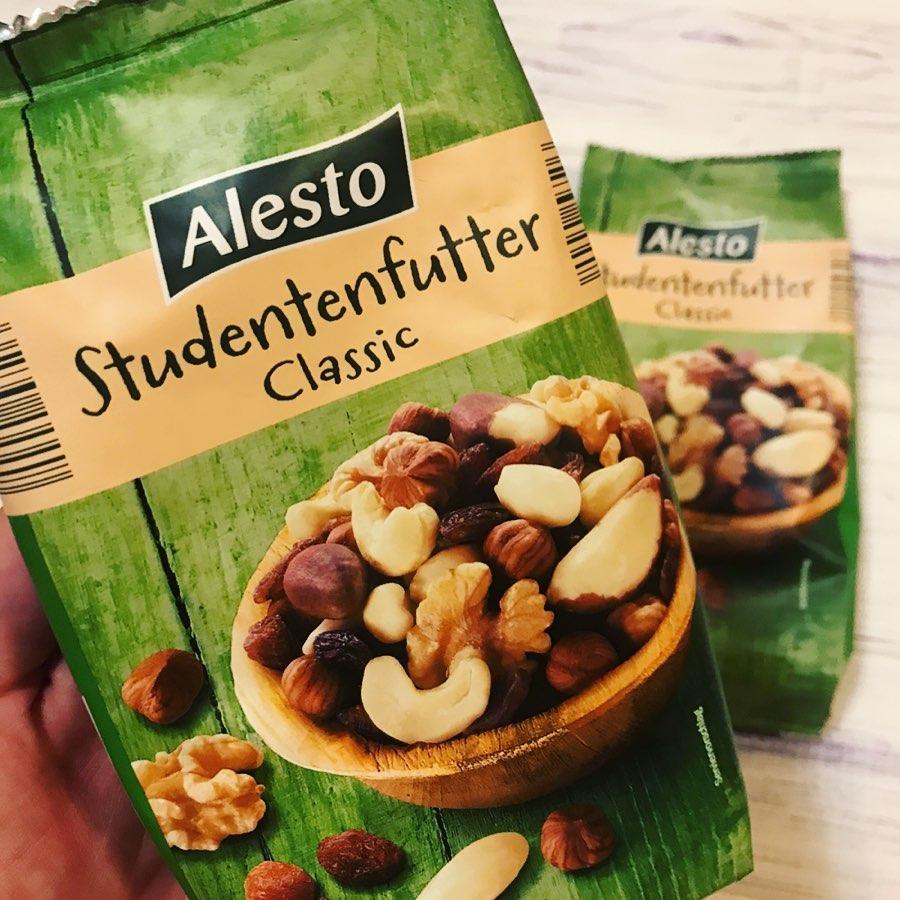 Мікс горіхів Alesto Studentenfutter Classic