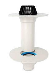 Покрівельна ПВХ воронка в зборі c підігрівом Sika Roof Gully PVC DN 100 мм