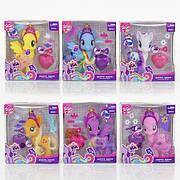 Лошадка Пони My Little Pony 88244 / Фигурка Пони с аксессуарами (розовая, голубая)