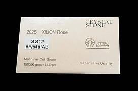 Crystal Stone ss12 CrystalAB 2028 (1440pcs)