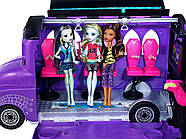 Monster High Школьный автобус и салон Deluxe   Bus and Mobile Salon Toy Playset, фото 5