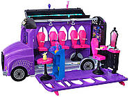 Monster High Школьный автобус и салон Deluxe   Bus and Mobile Salon Toy Playset, фото 7