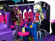 Monster High Школьный автобус и салон Deluxe   Bus and Mobile Salon Toy Playset, фото 10