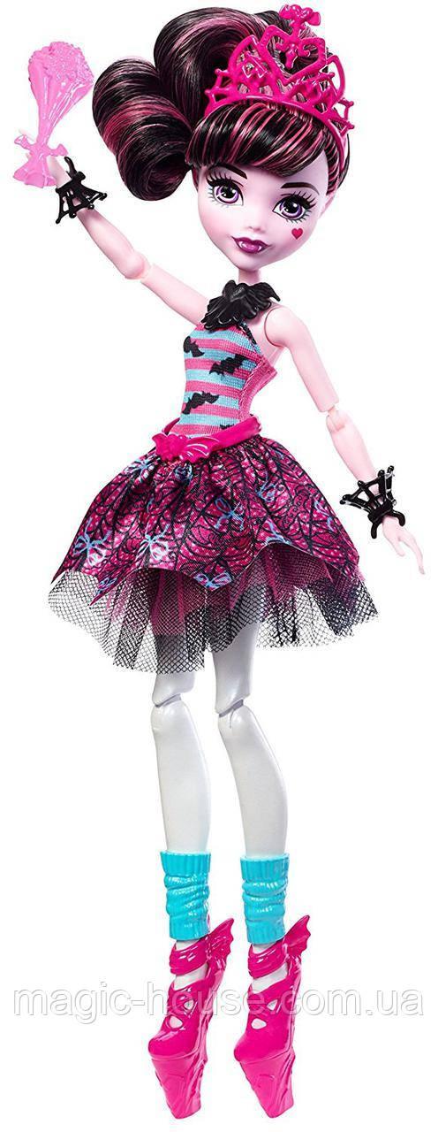 Кукла Монстер Хай Дракулаура Балерина Monster High Ballerina Ghouls Draculaura