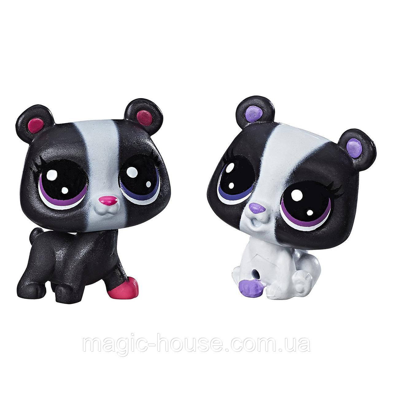 Littlest Pet Shop Медвежата Маленький зоомагазин  Black & White Bear