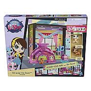 Littlest Pet Shop Игровой набор Стеклянная комната Mаленький Зоомагазин Литл Пет Шоп Pet-acular Fun Room Style, фото 2