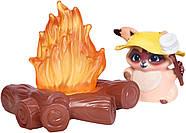 Enchantimals Єнот Райлі та єнотік Пестер на Пікніку Энчантималс Campfire, фото 8