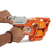 БластерПереворот Зомби страйк Nerf Zombie Strike FlipFury Blaster, фото 2