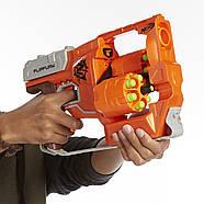 БластерПереворот Зомби страйк Nerf Zombie Strike FlipFury Blaster, фото 3