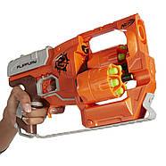БластерПереворот Зомби страйк Nerf Zombie Strike FlipFury Blaster, фото 5