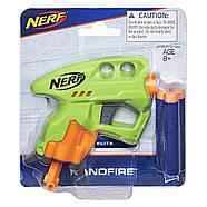 Бластер Нерф Нано Фаер(Салатовый) Nerf N-Strike NanoFire(green), фото 2