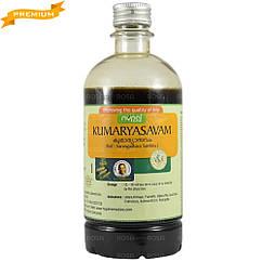 Кумарі асава (Kumaryasavam, Nupal Remedies), 450 мл - тонік для печінки, селезінки, матки, Аюрведа преміум