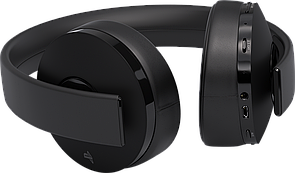 Навушники Sony PS4 Gold Wireless Headset Black