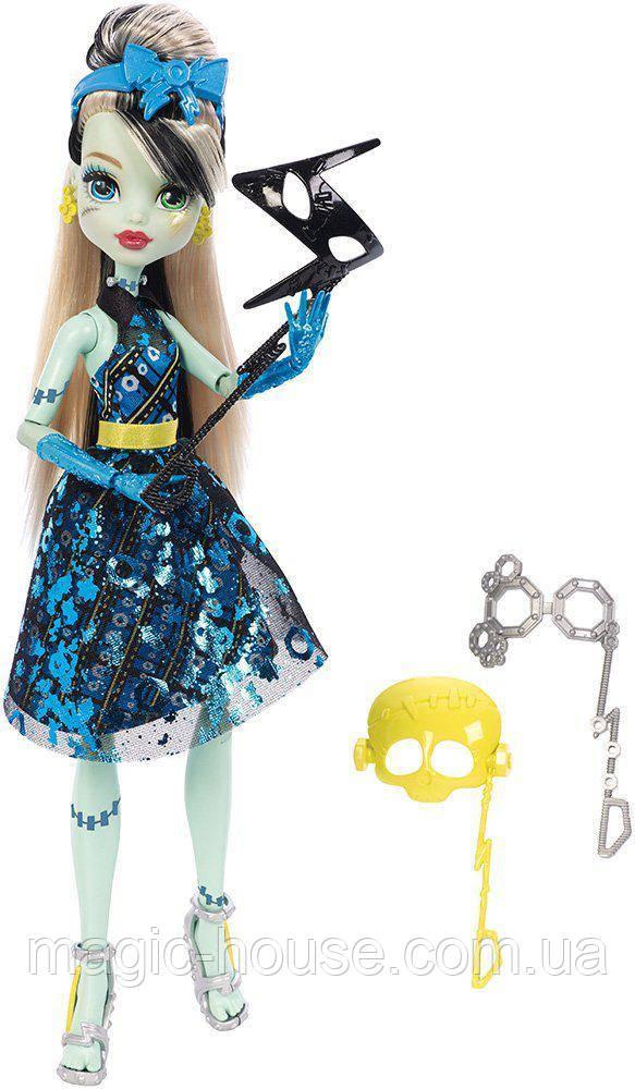 Кукла Фрэнки ШтейнДобро пожаловать в Школу монстров Monster High Dance The Fright Away Transforming Frankie