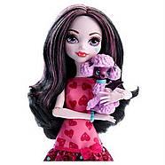 Кукла Monster High Дракулаура с питомцем Ghouls Beast Pet Draculaura Mattel, фото 3