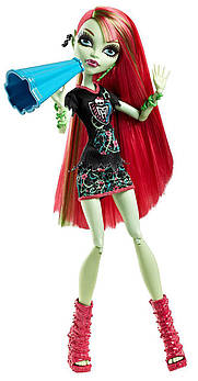 Кукла Monster High Венера Мухоловка Командный дух Ghoul Spirit Venus McFlytrap